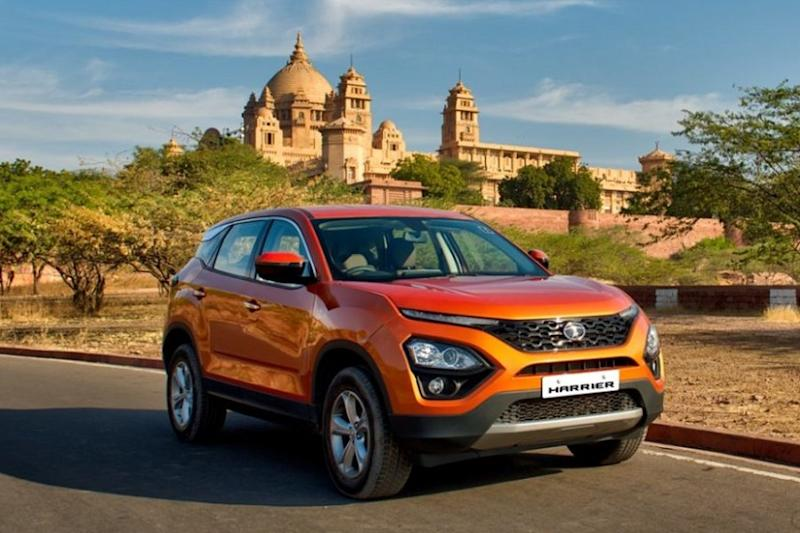 Tata Harrier. (Image: Tata Motors)