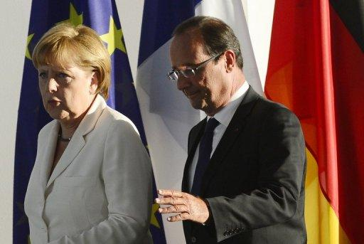 Angela Merkel and Francois Hollande have struggled to keep their initial friction to a minimum