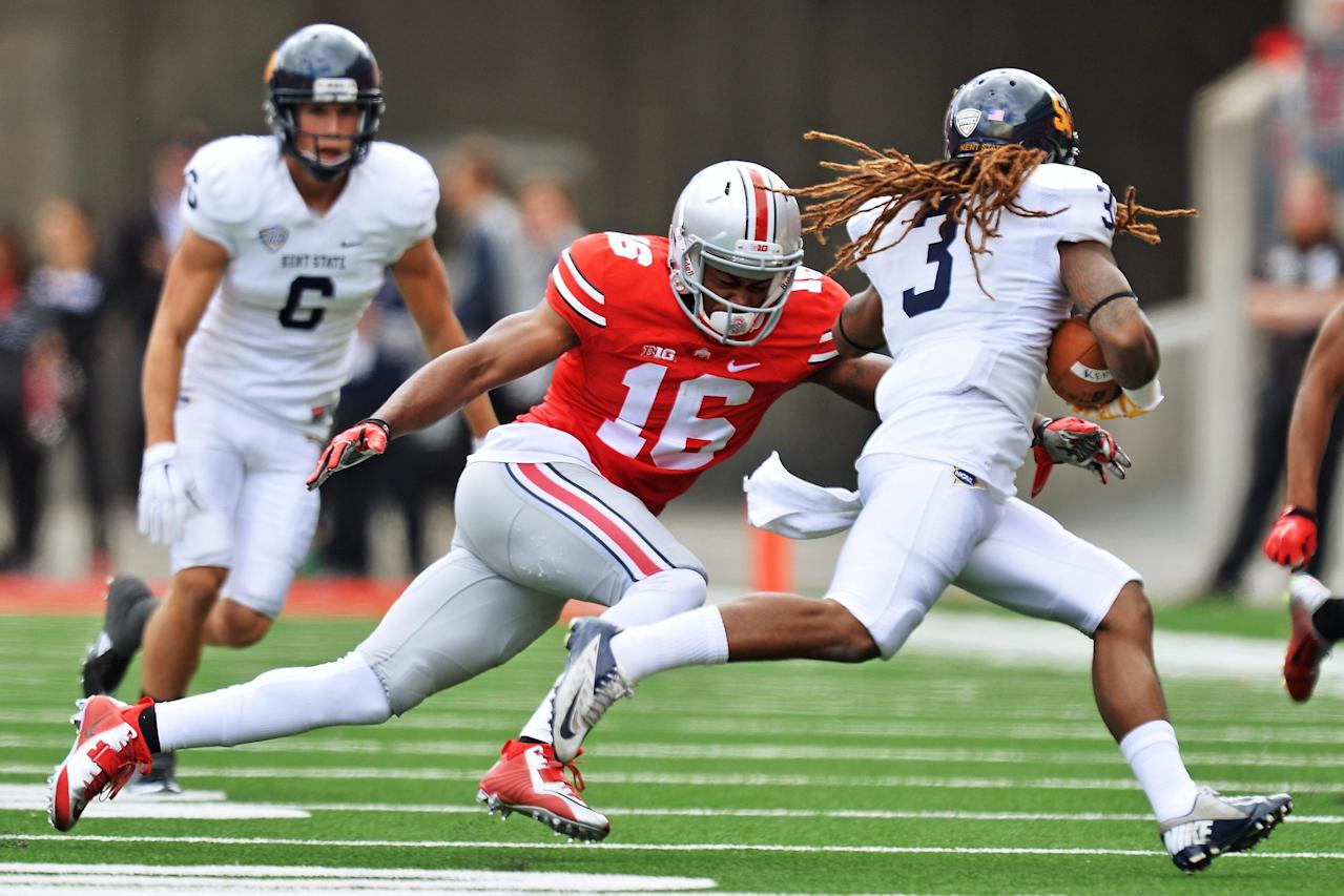 Ohio State DB Cam Burrows out for season