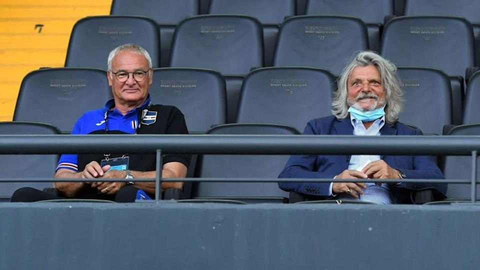 Claudio Ranieri, Massimo Ferrero | Alessandro Sabattini/Getty Images