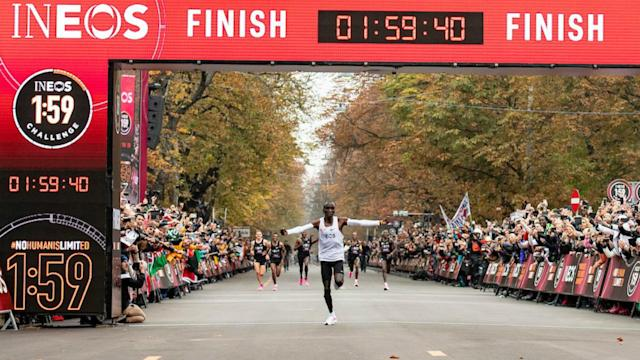 October 12, 2019 will go down in history as the first time a marathon was run in under two hours, courtesy of Eliud Kipchoge.