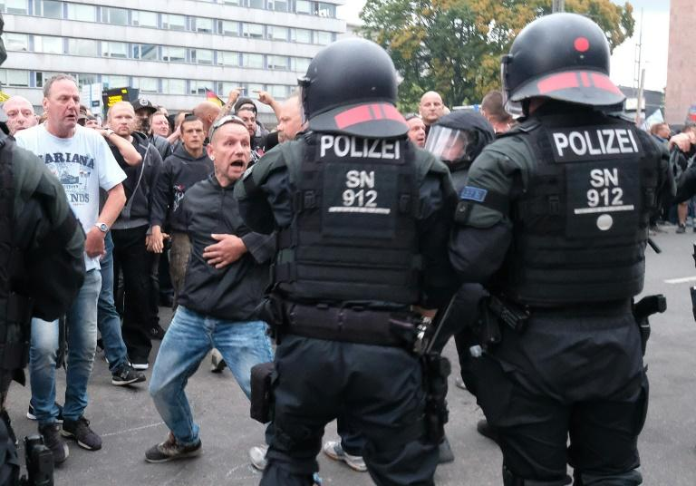 "The mood remains highly charged following what have been labelled as ""pogrom-like"" scenes in Chemnitz on Sunday in which extremists chased and beat immigrants from Afghanistan, Syria and Bulgaria"