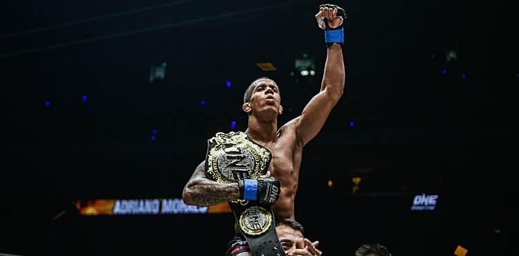Adriano Moraes ONE Heros Ascent victory