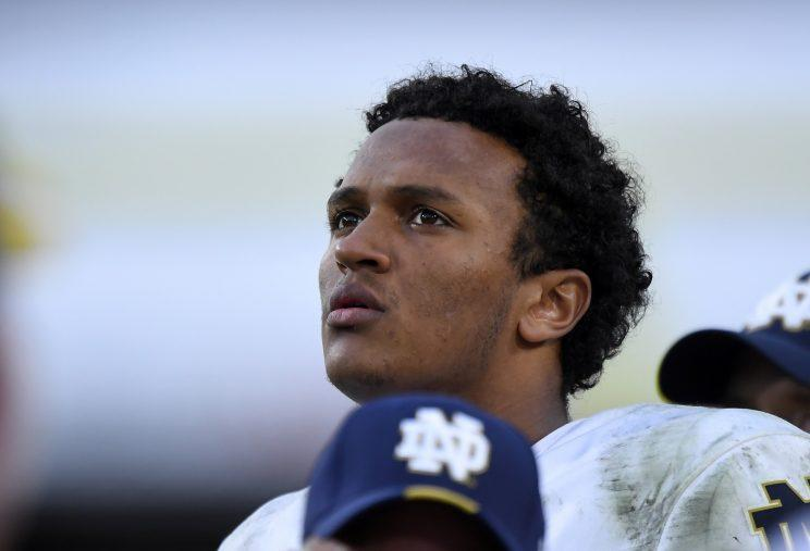 This time DeShone Kizer gets to be the next great hope at QB for Cleveland. (AP)