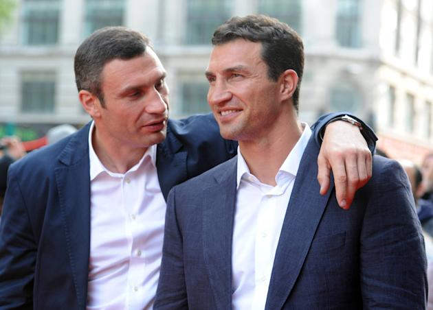 Vitali Klitschko and his brother, Wladimir, carved their own