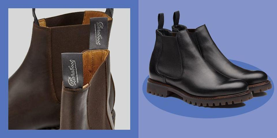 """<p>The Chelsea boot as we know it has been going strong since the mid-19th century. Hailed for its easy slip-on-and-off silhouette (thanks to the invention of vulcanised rubber, we now use elastic), even Queen Victoria was allegedly a fan.</p><p>Obviously, the best Chelsea boots have evolved quite a bit since then. The Paddock styles first spotted on Kings Road-frequenting socialites in the Sixties (from whom they got the name 'Chelsea boots') were actually designed for riding. But they soon shook off the equestrian influences, going from Swinging London to subcultural signature, when Mods all over the country adopted them as a comfortable and practical uniform. The Beatles then dismissed functionality in the name of rock 'n' roll, upgrading the shoe with a flamboyant Cuban heel. Good for dancing in, great for showing of the cropped hem of a straight-leg suit trouser, and even better for adding a few inches height-wise.</p><p>Fast forward to 2020 and it seems we've settled on a simpler shape as a rule. And it's not hard to see why: this versatile design is ideal for the modern-day office, can be worn on the weekend, or even with black tie (if it's good enough for <a href=""""https://www.esquire.com/uk/style/a29335049/timothee-chalamet-style-the-king-premiere/"""" rel=""""nofollow noopener"""" target=""""_blank"""" data-ylk=""""slk:Timothée Chalamet..."""" class=""""link rapid-noclick-resp"""">Timothée Chalamet...</a>). </p><p>Still, there are plenty of designers out there mixing it up and silhouettes are getting even more experimental. But if you're not a steel toe caps kinda guy, rest assured – a platform sole or high-cut silhouette can have just as much attitude. If these terms have you stumped, let us help you out with our edit of the 10 best Chelsea boots to invest in – the traditional, the trend-led and everything in between.</p>"""