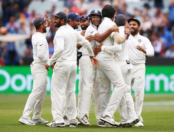India will begin the new year as No. 1 Test side in the world