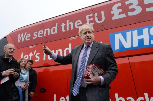 Boris Johnson will not replicate is 2016 bus tour, despite pressure from allies.