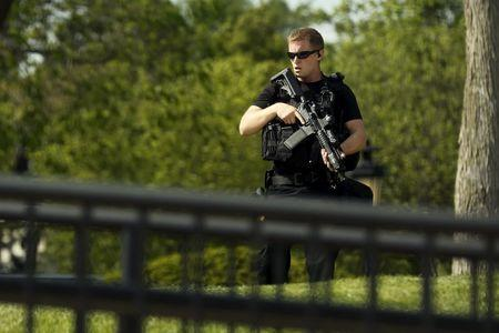 White House locked down after items thrown over fence ...