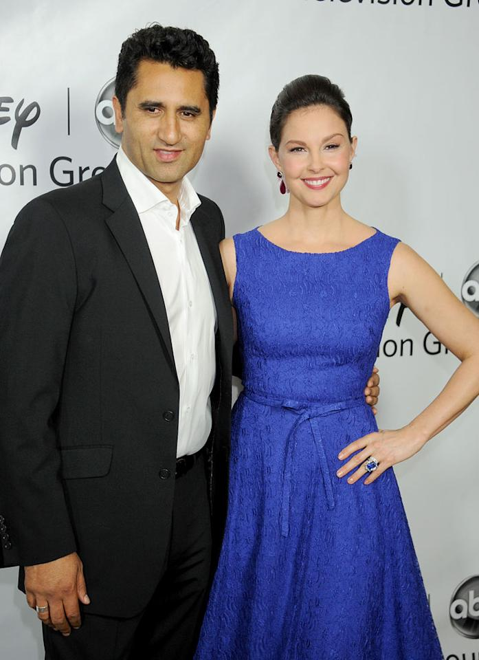 """<a href=""""/cliff-curtis/contributor/31024"""">Cliff Curtis</a> and <a href=""""/ashley-judd/contributor/29690"""">Ashley Judd</a> (""""<a href=""""/missing/show/47456"""">Missing</a>"""") attend the 2012 ABC Winter TCA All-Star Party at the Langham Huntington Hotel on January 10, 2012 in Pasadena, California."""