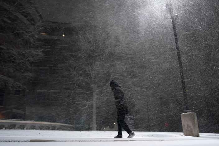 Winter Weather Texas (Copyright 2021 The Associated Press. All rights reserved.)