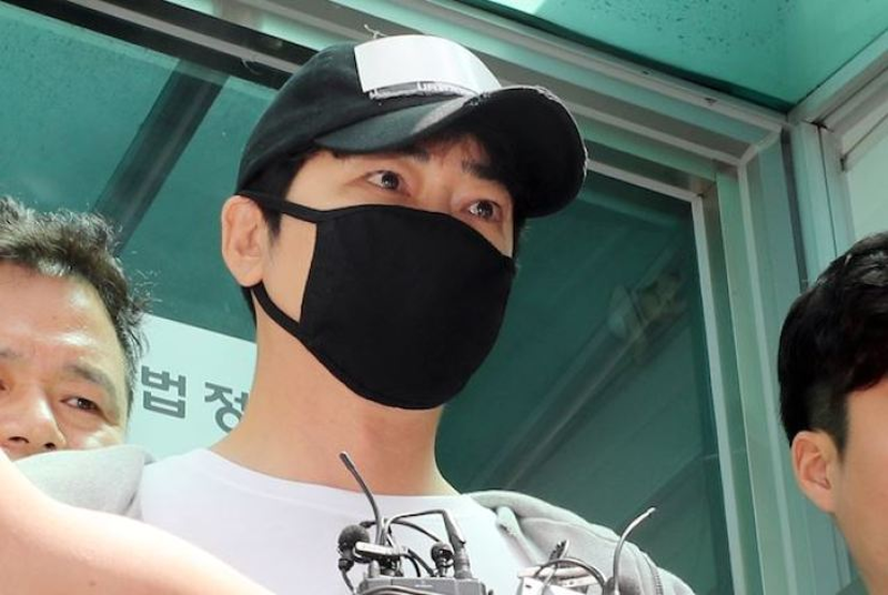 The South Korean prosecution unit has appealed against actor Kang Ji-hwan's three-year suspended sentence for raping two women in July. — Picture via Yonhap