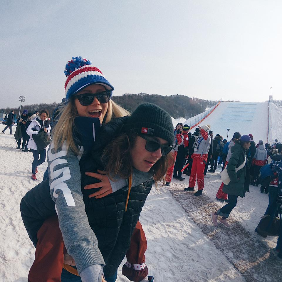 <p>maggie_voisin: Sharing this experience with you has been more special to me than you will ever know! I love you dude. @tuck_voisin #Twinning #pyeongchang2018 (Photo via Instagram/maggie_voisin) </p>