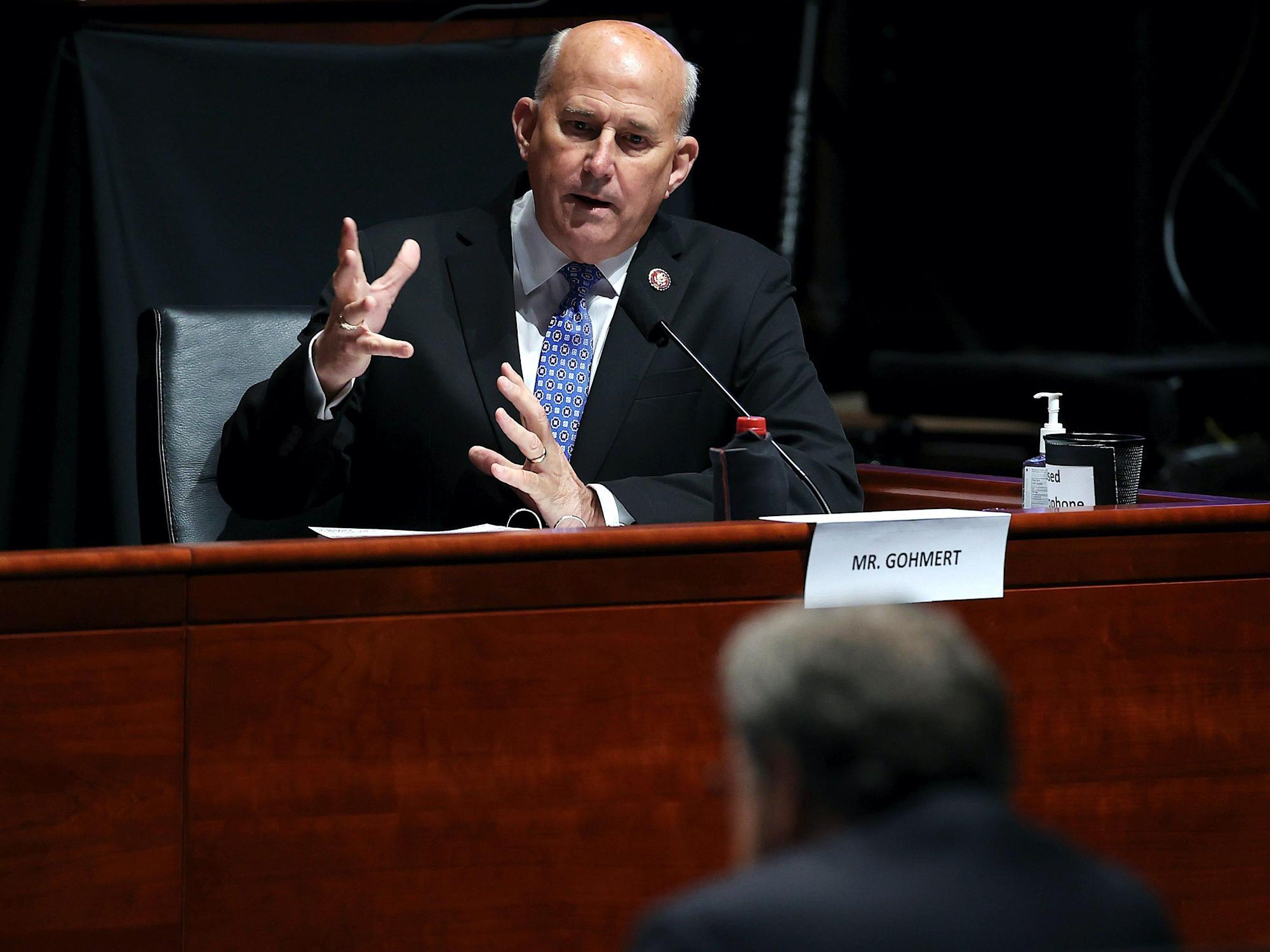 GOP Rep. Louie Gohmert asks a National Forest Service official if she can alter the Earth's and moon's orbits to address climate change