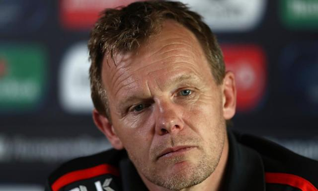 """<span class=""""element-image__caption"""">Mark McCall is concerned that his international players will be left without enough time off.</span> <span class=""""element-image__credit"""">Photograph: David Rogers/Getty Images</span>"""