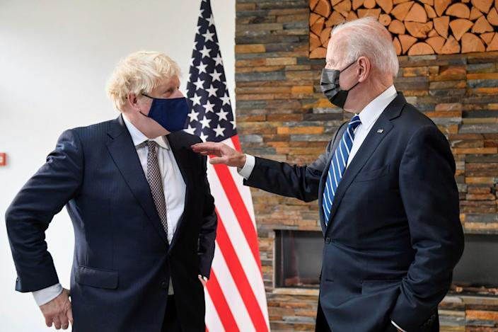 President Joe Biden and British Prime Minister Boris Johnson have much to discuss before the G-7 summit in Cornwall, Britain.