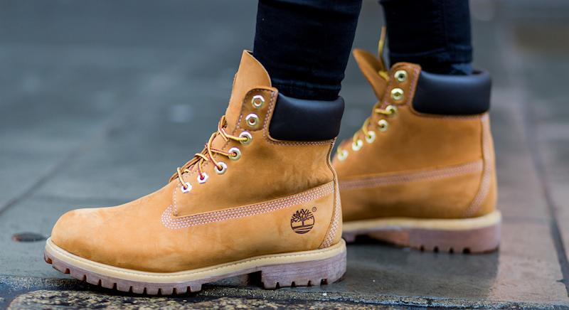 Timberland are offering 60% off right now. (Getty Images)