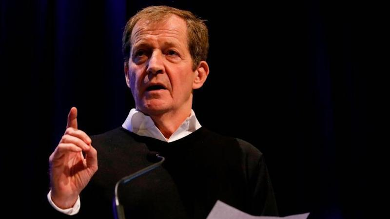 British journalist and former political aide Alastair Campbell