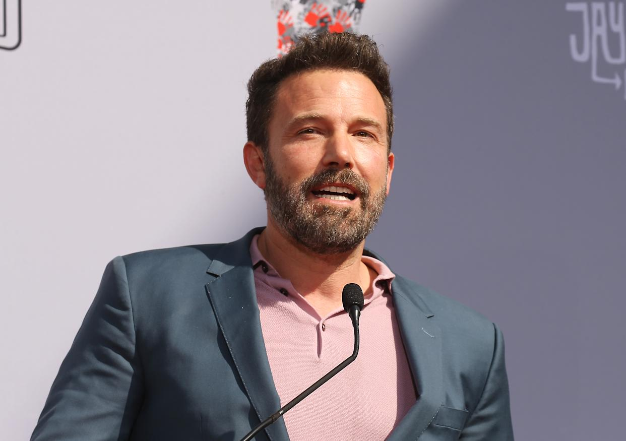 """Affleck is speaking out about the """"vicious cycle"""" of substance abuse. (Photo: Michael Tran/FilmMagic)"""
