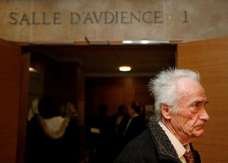 Pierre Le Guennec leaves the courthouse after his appeal trial in the Le Guennec-Picasso case in Aix en Provence