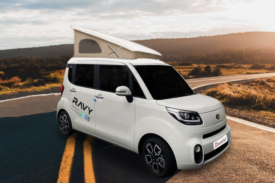 """<p>If you happen to be of the shorter persuasion, then this adorable little Kia-based camper from South Korea could be exactly the vehicle of your dreams.</p><p><a class=""""link rapid-noclick-resp"""" href=""""https://www.gearpatrol.com/cars/a34481416/daon-ravy-tiniest-camper-van/"""" rel=""""nofollow noopener"""" target=""""_blank"""" data-ylk=""""slk:LEARN MORE"""">LEARN MORE</a></p>"""