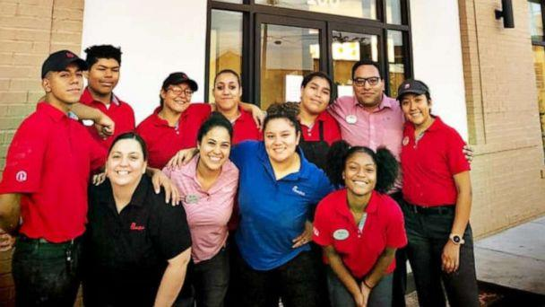 PHOTO: Chick-fil-A employees at the Odessa, Texas location worked to cook 500 chicken sandwiches for first responders in the wake of a mass shooting on Saturday. (Chick-fil-A Odessa/Facebook)
