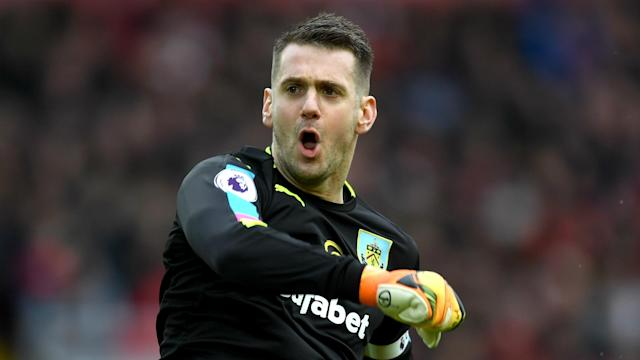Nick Pope's form has earned the goalkeeper an England call-up, but club captain Tom Heaton wants his Burnley place back.
