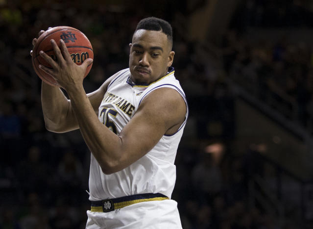 Bonzie Colson averaged 19.7 points, an ACC-leading 10.1 rebounds and 2.2 blocks this season. (AP)