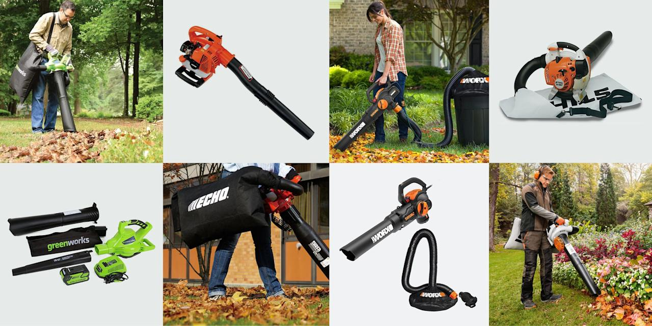 """<p>If you want to buy the most effective leaf vacuum you can lay your hands on, buy a lawnmower.  Seriously. A mower is more powerful than a handheld leaf vacuum, holds far more debris and supports its debris bag on a frame, so you don't have to carry it. It also covers an area more quickly than a leaf vacuum. Finally, it does a far more uniform job of mulching the debris it collects. On what do I base that radical opinion? Decades of product testing for <em>Popular Mechanics</em>, and 50 years of gathering leaves by every method imaginable—both by hand and by power.</p><p>So why bother with a leaf vacuum? First things first, it does more than collect leaves. It picks up conifer needles and cones, small pieces of plastic and paper litter, twigs, acorns, and other nuts. It can snatch debris out of a corner where a sidewalk or lawn meets foundation wall. You can even take an electric model into a garage, to clean out cobwebs and dusty corners. Furthermore, leaf vacuums work on paved surfaces, another place where a lawnmower performs poorly, and they grab leaves out of flower beds and between shrubs—more places where a mower can't reach.</p><p>Given that, our team set out to determine the best leaf vacuums on the market right now. You'll find the results of our testing below, after some advice and things to keep in mind when shopping for a leaf vacuum of your own.</p><h3 class=""""body-h3"""">Things to Consider</h3><p>In deciding between gas and electric leaf vacs, it comes down to this. Gas-engine machines are far more powerful than cordless and more resistant to clogging, especially when pulling in twigs and wet leaves. They are certainly far more mobile than corded machines. If you're working a small, manicured yard, corded and cordless are perfect. For a large lawn, especially where you have to remove nuts, twigs, pine cones, and pine needles along with the leaves, go with a machine powered by a gas engine. Also, note that air movement speed and volumes stated by manufac"""