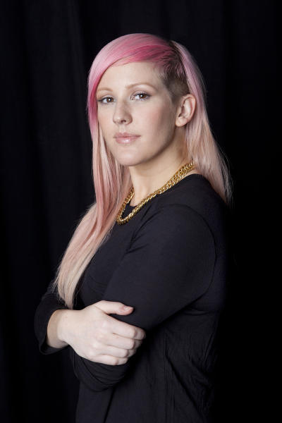 """This Sept. 14, 2012 photo shows English singer-songwriter Elena Jane """"Ellie"""" Goulding posing for a portrait in New York. Goulding's debut, """"Lights,"""" was released in February 2010 in Europe and March 2011 in the United States. This year, however, the title track peaked at No. 2 on Billboard's Hot 100 chart and has sold more than 3.3 million units in America. The electro-dance track is one of the year's top songs. (Photo by Amy Sussman/Invision/AP)"""