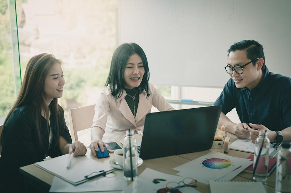 In Asia, women are 32% of fund managers in the industry. That's more than double the number in the United States.
