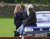 <p>No bigs, it's just Harry and some unidentified female friends chilling on an old VW in 2001, partaking in a casual make out session, as ya do. Honestly, we have no idea what is happening here, but all of it is amazing and can we PLEASE discuss the side-eye that girl in the background is throwing.</p>