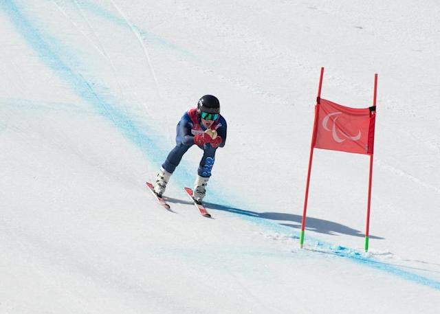 Winter Paralympics: Alpine skier Whitley eyeing up improvements for Beijing after strong PyeongChang finish