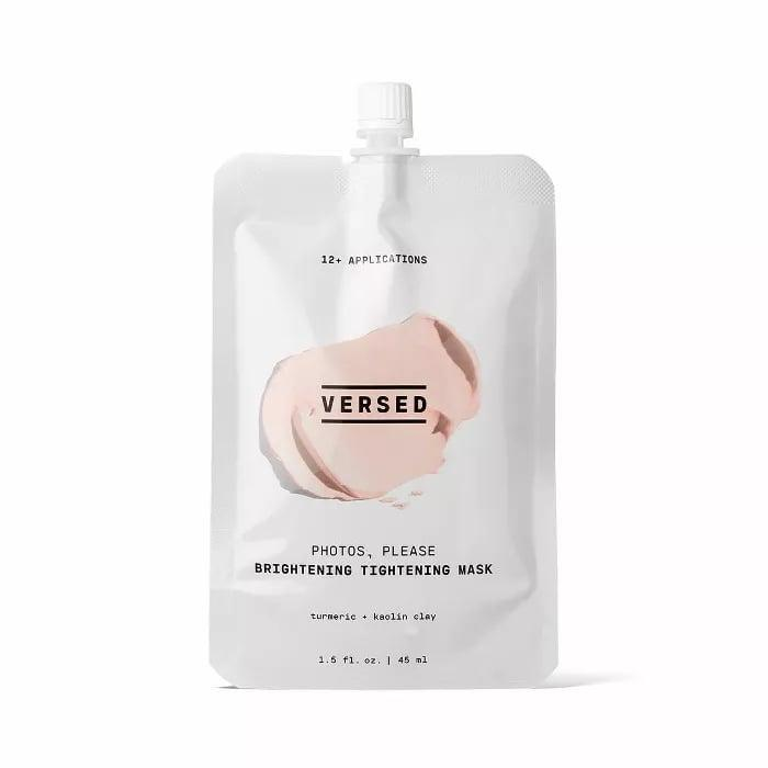 """<p><a href=""""https://www.popsugar.com/buy/Versed-Photos-Please-Brightening-Tightening-Face-Mask-506589?p_name=Versed%20Photos%20Please%20Brightening%20Tightening%20Face%20Mask&retailer=target.com&pid=506589&price=10&evar1=bella%3Aus&evar9=47614602&evar98=https%3A%2F%2Fwww.popsugar.com%2Fbeauty%2Fphoto-gallery%2F47614602%2Fimage%2F47614611%2FVersed-Photos-Please-Brightening-Tightening-Face-Mask&list1=target%2Cbeauty%20products%2Cbeauty%20shopping&prop13=mobile&pdata=1"""" class=""""link rapid-noclick-resp"""" rel=""""nofollow noopener"""" target=""""_blank"""" data-ylk=""""slk:Versed Photos Please Brightening Tightening Face Mask"""">Versed Photos Please Brightening Tightening Face Mask</a> ($10)</p>"""
