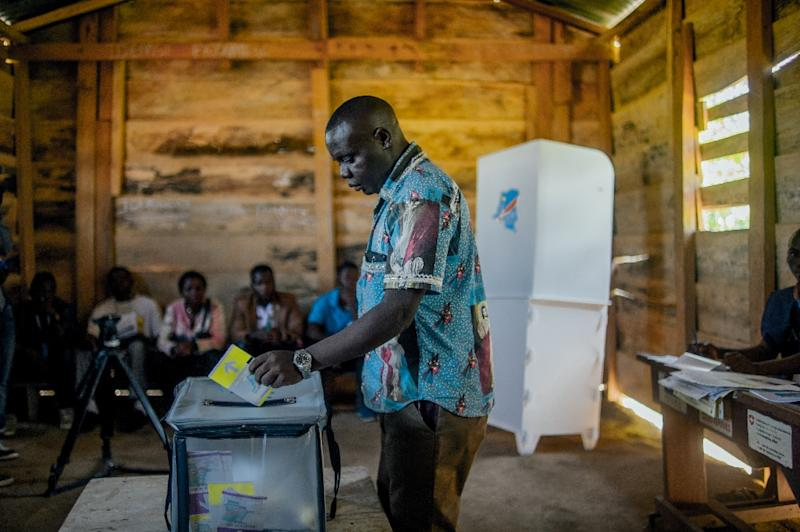 The election had been postponed in Beni because of conflict and an Ebola epidemic