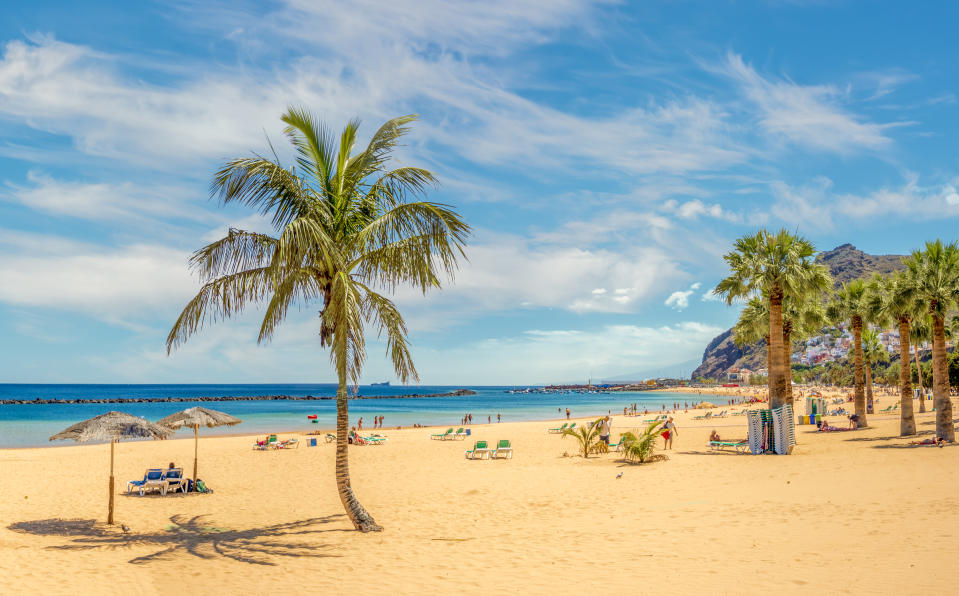 Typically known for its package holiday offering, Tenerife offers more affordable flights than ever – and there's a lot to enjoy for travellers to the island, including hiking trails, mountain-top villages and 400 kilometres of coastline. For fans of astronomy, there's also Mount Teide, the world's largest solar observatory. Median flight price: £223.88. Percentage price change: -44%. <em>[Photo: Getty]</em>
