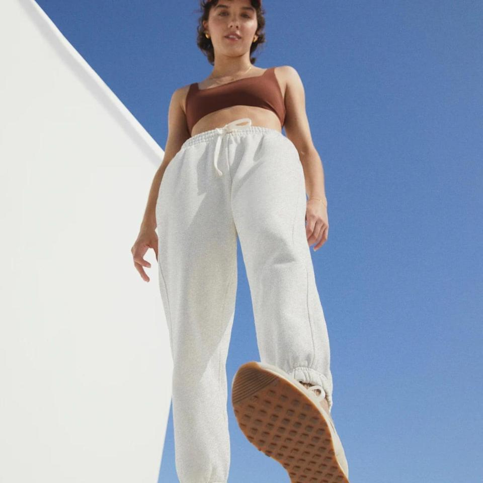 <p>You can't go wrong with these classic <span>Everlane Track Joggers</span> ($58).</p>