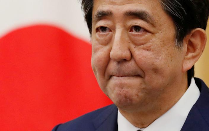 Japan's Prime Minister Shinzo Abe is rumoured to have health issues - Reuters