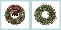 "<p>The holidays are fast approaching, so now's the time to finalize <a href=""https://www.elledecor.com/design-decorate/interior-designers/advice/g2833/christmas-decorating-ideas/"" rel=""nofollow noopener"" target=""_blank"" data-ylk=""slk:your decorating plan"" class=""link rapid-noclick-resp"">your decorating plan</a>. While it's easy to just focus on how you're going to <a href=""https://www.elledecor.com/design-decorate/room-ideas/g22840970/christmas-living-room-decor/"" rel=""nofollow noopener"" target=""_blank"" data-ylk=""slk:outfit your indoor spaces"" class=""link rapid-noclick-resp"">outfit your indoor spaces</a>—from the <a href=""https://www.elledecor.com/design-decorate/room-ideas/g22728600/christmas-mantel-decorations/"" rel=""nofollow noopener"" target=""_blank"" data-ylk=""slk:festive mantels"" class=""link rapid-noclick-resp"">festive mantels</a> to the <a href=""https://www.elledecor.com/design-decorate/trends/g22802637/christmas-tree-theme-ideas/"" rel=""nofollow noopener"" target=""_blank"" data-ylk=""slk:themed Christmas trees"" class=""link rapid-noclick-resp"">themed Christmas trees</a>—it's just as important to consider your <a href=""https://www.elledecor.com/design-decorate/trends/g2835/outdoor-christmas-decorations/"" rel=""nofollow noopener"" target=""_blank"" data-ylk=""slk:home's exterior"" class=""link rapid-noclick-resp"">home's exterior</a>. After all, who doesn't love to make a good first impression? One of the best ways to do so and enhance your entrance is with a stylish wreath—or you can go all out by hanging multiple wreaths on your front door and street-facing windows. From the simplest of designs to extravagant styles adorned in <a href=""https://www.elledecor.com/shopping/g22886028/christmas-tree-ornaments/"" rel=""nofollow noopener"" target=""_blank"" data-ylk=""slk:festive ornaments"" class=""link rapid-noclick-resp"">festive ornaments</a> and poinsettias, here are 45 of our favorite options that you can use to adorn your doors this holiday season. </p>"