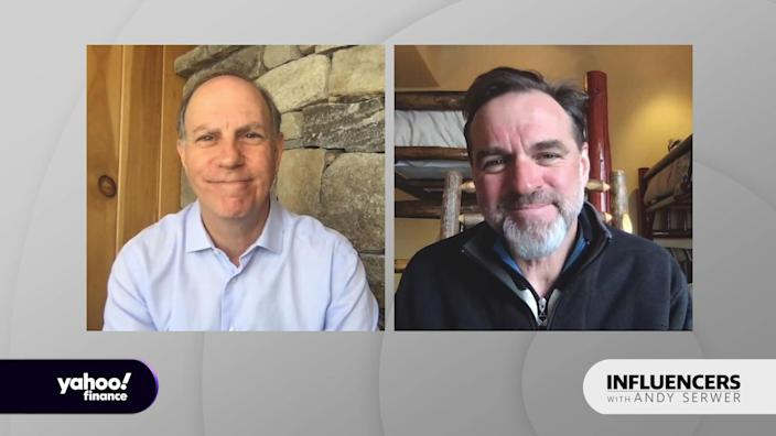 "Niall Ferguson, a senior fellow at the Hoover Institution at Stanford University, appears on ""Influencers with Andy Serwer."""