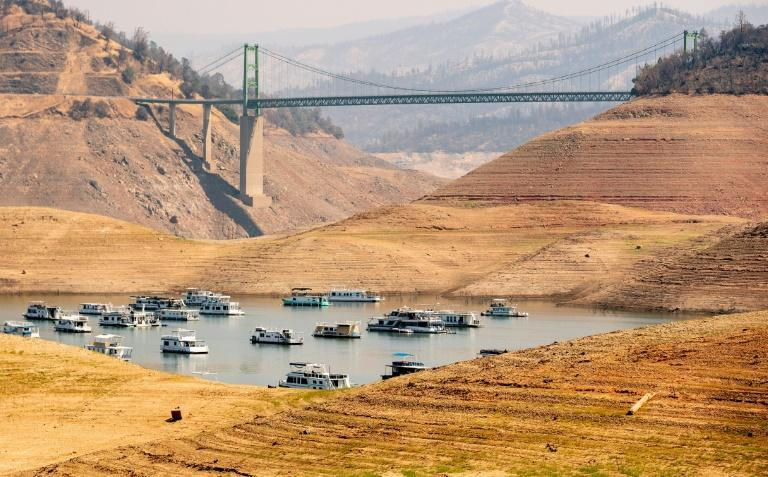 Climate change increases the intensity and frequency of extreme weather like heatwaves and droughts (AFP/JOSH EDELSON)