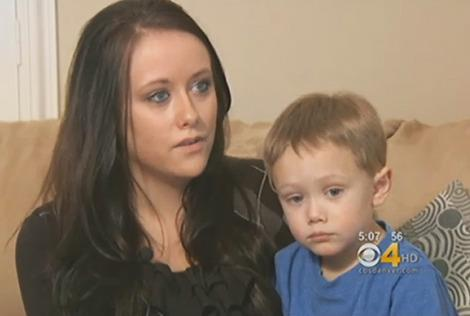 Jessica Hayes and her son, Dylan. (Photo: KCNC-TV)