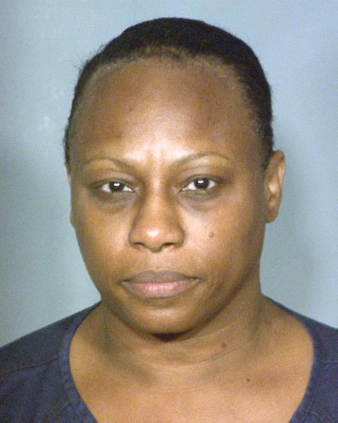 This booking photo provided by the Clark County Detention Center in Las Vegas, Saturday, Dec. 22, 2012, shows 50-year-old Brenda Stokes, who also uses the name Brenda Wilson and Brenda Stokes Wilson. Police in Las Vegas have issued a plea for information about 10-year-old Jade Morris after she failed to return home Friday, Dec. 21, 2012, from a shopping trip with a woman who is thought to be Stokes. Stokes was arrested that night and accused of slashing the face of a female co-worker at the Bellagio resort on the Las Vegas Strip. She made her first appearance in Las Vegas Justice Court, Wednesday, Dec. 26, 2012. (AP Photo/Clark County Detention Center )