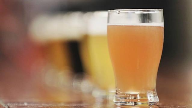 In Miami, your Super Bowl beer is going to be different. It won't come in a plastic cup