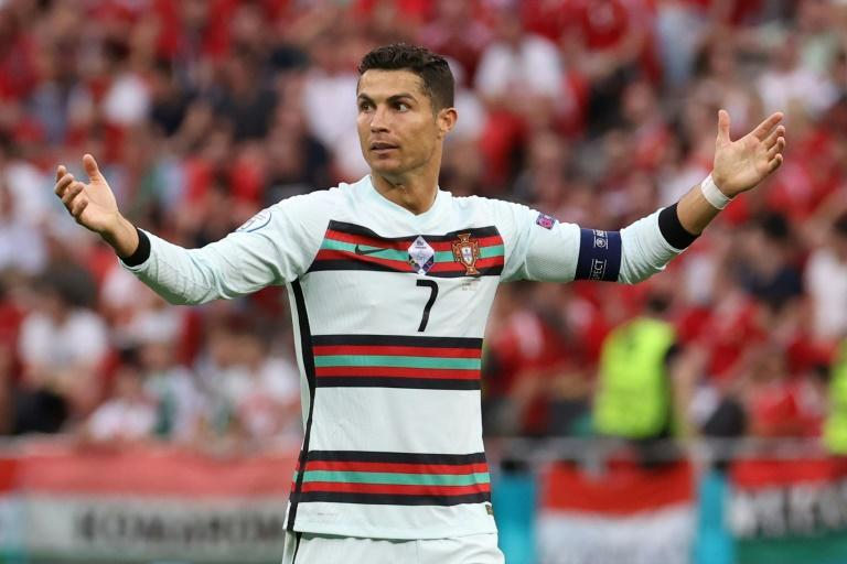 Ronaldo blazed an excellent chance over in the first half