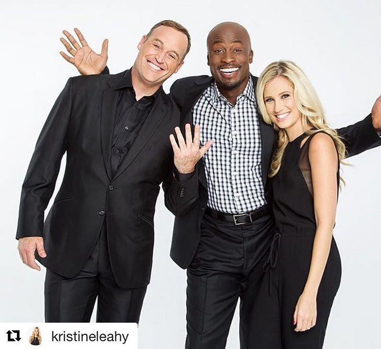 <p>#repost Great news! Matt, Akbar and I are taking over the @YahooTV account! Go check it out for some behind the scenes pics from the @ninjawarrior set! — @kristineleahy </p>