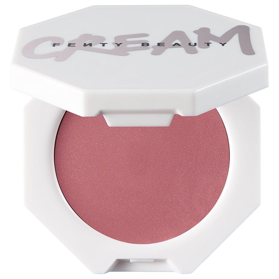 <p>Find a natural, flushed glow with the new <span>Fenty Beauty by Rihanna Cheeks Out Freestyle Cream Blush</span> ($20). These sheer, buildable options don't just come in pinky shades, either, so go wild with whichever long-lasting, water-resistant color floats your boat.</p>
