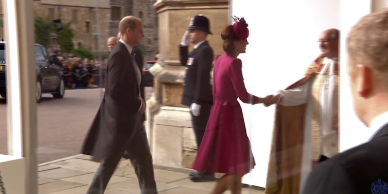 Kate Middleton S Hot Pink Wedding Guest Dress Was Very Different