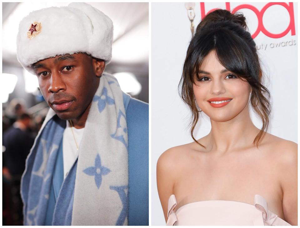 Tyler the Creator says he apologised to Selena Gomez over past tweets (Getty)