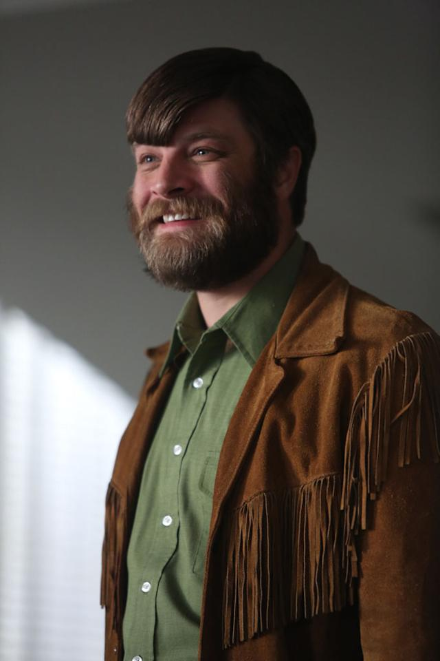 "Stan Rizzo (Jay R. Ferguson) in the ""Mad Men"" Season 6 finale, ""In Care Of."""